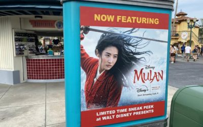 """Mulan"" Preview Opens as Part of Walt Disney Presents at Disney's Hollywood Studios"