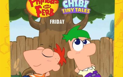 "New ""Chibi Tiny Tales"" Series Featuring ""Phineas and Ferb"" Set to Debut Friday"