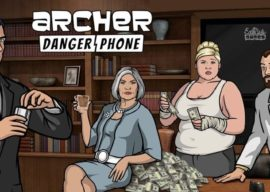 """New Mobile Game """"Archer: Danger Phone"""" Available Now"""
