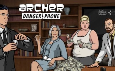 "New Mobile Game ""Archer: Danger Phone"" Available Now"
