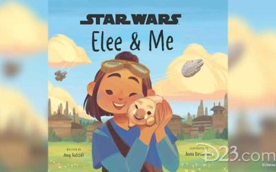 "New Star Wars: Galaxy's Edge Children's Book ""Elee & Me,"" Target Edition of ""Myths & Fables"" Announced"