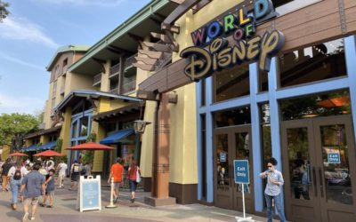 Photo Update - Merchandise Throughout Downtown Disney 8/21/2020