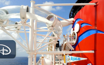 "Disney Cruise Line Shares First ""Slide & Learn"" Video Aboard the AquaDuck"
