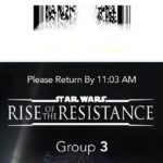 Star Wars: Rise of the Resistance at WDW Now Using Scannable Barcodes on Virtual Boarding Passes