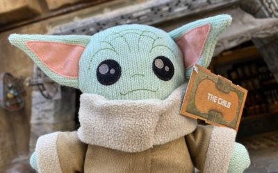 """The Child"" Knit Plush Lands at Black Spire Outpost at Disney's Hollywood Studios"