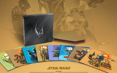 """The Mandalorian"" Season 1 Eight-Disc Vinyl Soundtrack Boxed Set Announced by Mondo"