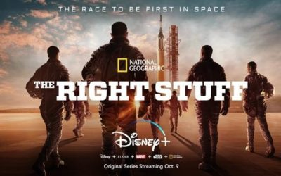 "Disney+ Releases Official Trailer for ""The Right Stuff"" Series Launching October 9"