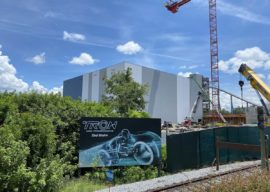 TRON Lightcycle Run Construction Update 8/11/2020