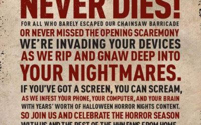 Universal Teases #HHNForever Virtual Halloween Horror Nights Experience