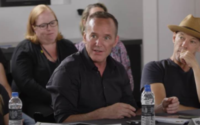 "Watch the ""Marvel's Agents of S.H.I.E.L.D."" Cast's Emotional Reaction to Their Final Table Read"