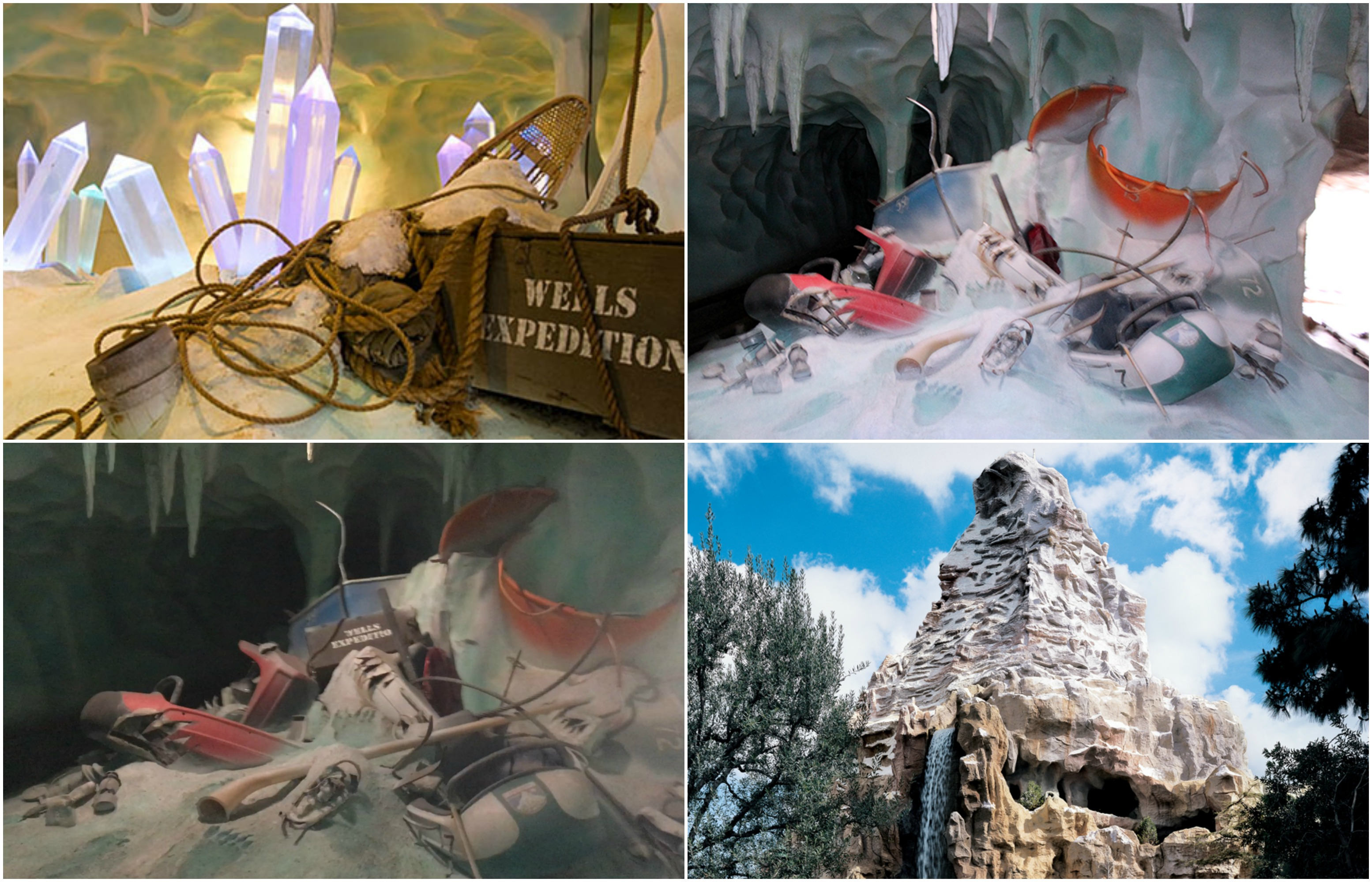 Wells Expedition Tribute Returns to Disneyland's Matterhorn