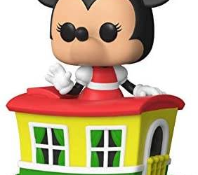 Amazon Exclusive Funko Pop! Figure Features Minnie Mouse in Casey Jr. Circus Train Car, One Piece of Larger Set and Series Celebrating Disneyland's 65th Anniversary