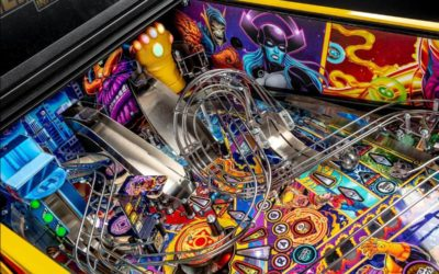 """Avengers: Infinity Quest"" Pinball Machines Available Now from Stern Pinball"