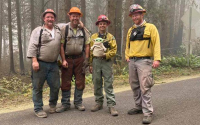 Oregon Firefighters Take Baby Yoda With Them Thanks To Generous 5-Year-Old