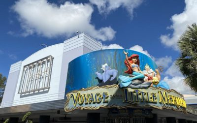 Billboards on Voyage of the Little Mermaid Soundstage Removed