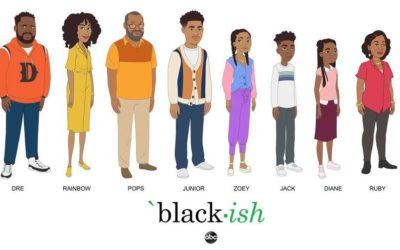 "ABC Shares Animated ""Black-ish"" Character Art Ahead of October 4th Special Episode"