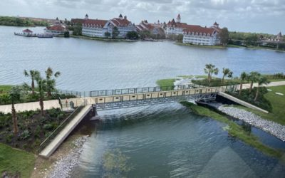 Construction Continues on Walkway Connecting Magic Kingdom and Disney's Grand Floridian Resort and Spa