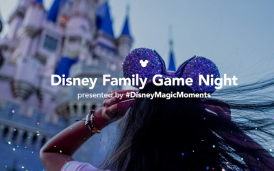 Disney Family Game Night To Celebrate Anniversary of Walt Disney World on Friday, Oct 2