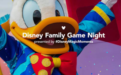 Disney Parks Blog to Host Disney Family Game Night Live on Friday, Sep 4th