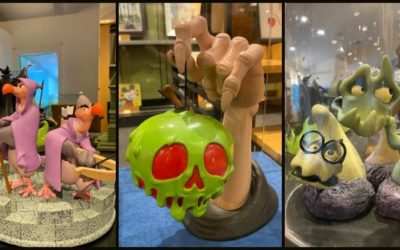 Disney Villain and Sidekick Figurines Now Available at Art of Disney at Disney Springs