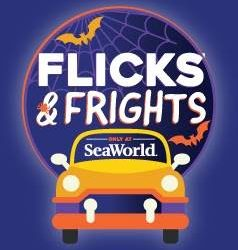 SeaWorld Orlando Continues Drive-In Movie Screenings with Halloween Themed Flicks & Frights