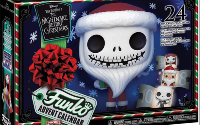 "Funko Releasing ""The Nightmare Before Christmas"" Advent Calendar Featuring Tiny Pop! Figures"