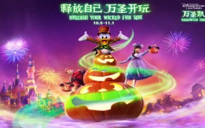 Celebrate Halloween at Shanghai Disneyland with Exciting and Villainous Experiences October 5-November 1