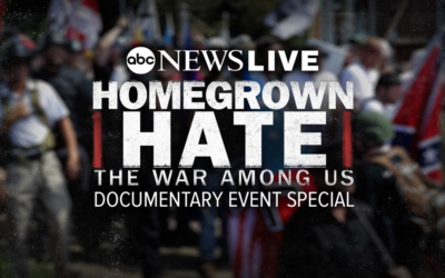 "ABC News Live to Present ""Homegrown Hate: The War Among Us"" on October 6"