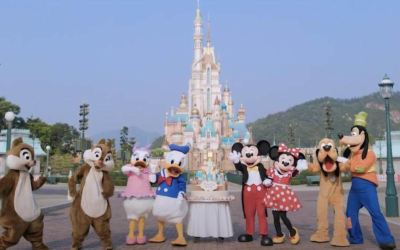 Hong Kong Disneyland Celebrates 15th Anniversary With First Glimpse of Completed Castle of Magical Dreams