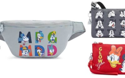 The Sensational Six Star on Kipling's New Mickey & Friends Capsule Collection