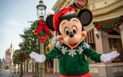 Winter Holiday Season Kicks Off at Walt Disney World November 6th Without Very Merry or Candlelight Events