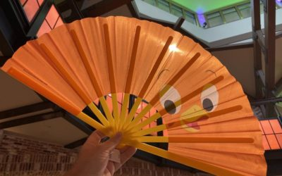 More Disney Folding Fans Found at World of Disney in Disney Springs
