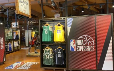 NBA Merchandise Arrives at Marketplace Co-Op at Disney Springs