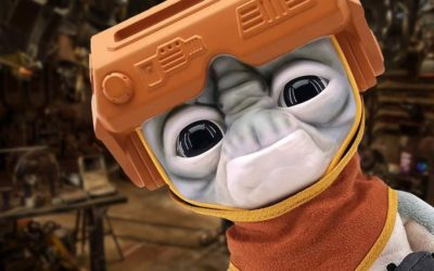 New Star Wars Babu Frik Plush Available Now for Pre-Order