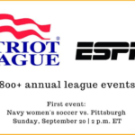 ESPN+ Reaches Multi-Year Agreement with Patriot League for Live and Archived Sporting Events