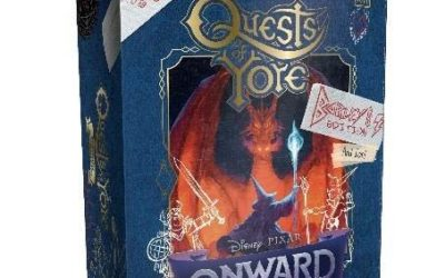 "Pixar Shares Inside Look at ""Quests of Yore"" Board Game"