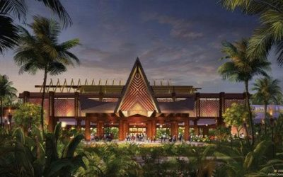 Entryway to Polynesian Village Resort to Receive Exciting New Enhancements