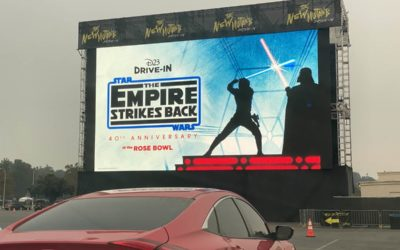 "Recap: D23 Hosts 40th Anniversary Drive-In Screening of ""The Empire Strikes Back"" in Southern California"