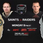 """ESPN to Present """"Monday Night Football"""" MegaCast as Las Vegas Raiders Play First Home Game in New City"""