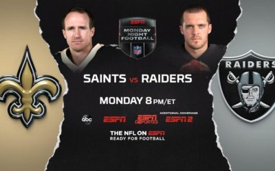 "ESPN to Present ""Monday Night Football"" MegaCast as Las Vegas Raiders Play First Home Game in New City"