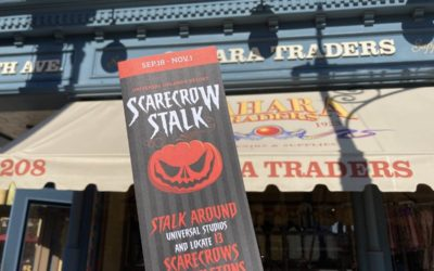 Scarecrow Stalk at Universal Studios Florida Provides a Spooky Scavenger Hunt