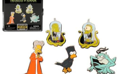 Treehouse of Horror Simpsons Pin Set Available for Pre-Order from Entertainment Earth