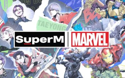 Marvel Teams Up with K-Pop Super Group for Limited Edition SuperM x Marvel Collection