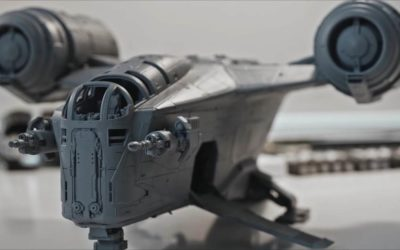 """Video: Industrial Light & Magic Reveals How the Razor Crest Ship Was Created for """"The Mandalorian"""""""