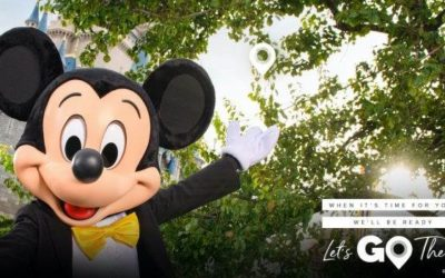"""Disney Parks Support Travel Industry Initiative """"Let's Go There"""""""