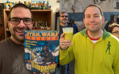 Who's the Bossk? - Episode 36: The Simpsons and Star Wars with Guest Alex Reif