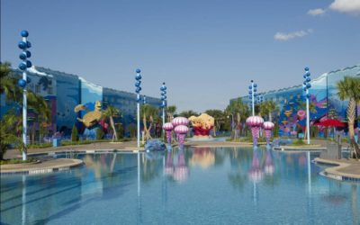 Disney Announces Early 2021 Refurbishment for The Big Blue Pool at Art of Animation Resort