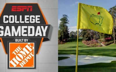 "ESPN's ""College GameDay"" Travels to Augusta, Georgia for 2020 Masters Tournament"