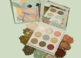 """Use the Force to Summon This Limited Edition """"The Mandalorian"""" The Child Eye Shadow Palette from ColourPop"""