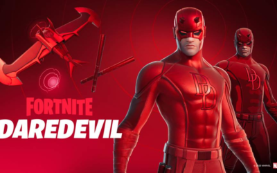 "Daredevil Arrives in ""Fortnite,"" Joining Other Marvel Heroes"